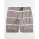 NITROUS BLACK This Is It Mens Hybrid Shorts