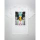 LA FAMILIA Triangle Sunset Mens T-Shirt