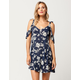 FULL TILT Floral Ties Dress