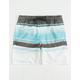 VALOR Hydro Stripe Boys Volley Shorts