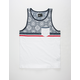 LOST Prong Mens Pocket Tank Top