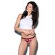 ETHIKA Sunset Rose Brazilian Cheeky Panties