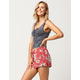 FULL TILT Sketched Floral Womens Shorts