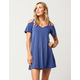 SOCIALITE Cold Shoulder Cutout Dress