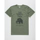 THE NORTH FACE Grizzly Tri-Blend Mens T-Shirt