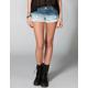 ALMOST FAMOUS Dip Dye Womens Cutoff Denim Shorts