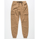 EAST POINTE Twill Mens Cargo Jogger Pants
