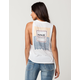 HURLEY Born From Water Womens Muscle Tank