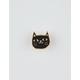 BADGE BOMB Black Cat Head Pin
