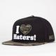 DGK Haters Mens Snapback Hat