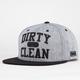 DGK Clean Mens Snapback Hat