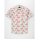 ARTISTRY IN MOTION Flamingo Mens Shirt