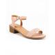 WILD DIVA Simple Strap Womens Heeled Sandals