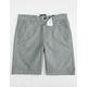RVCA That'll Walk Boys Oxford Shorts