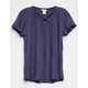 BOZZOLO Cross Front Girls Tee