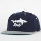 ROOK Shark Attack Mens Snapback Hat