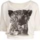 FULL TILT Cheetah Print Womens Crop Top