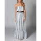 QUIKSILVER Indigo Splash Maxi Dress