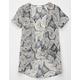 FULL TILT Paisley Girls Pocket Kimono