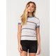 RVCA Detention Womens Ringer Tee