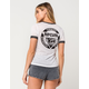 RIP CURL Surfers Womens Ringer Tee