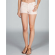 QUIKSILVER Lamrock Womens Denim Cutoff Shorts