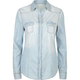ALI & KRIS Western Snap Womens Chambray Shirt