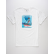 PINK DOLPHIN Travel Portrait Mens T-Shirt