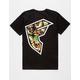 FAMOUS STARS & STRAPS Pineapple Skull Mens T-Shirt