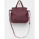 VIOLET RAY Amber Satchel Purse