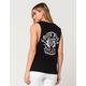 METAL MULISHA Black Rose Riding Womens Muscle Tank