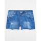 SCISSOR Blueberry Girls Denim Shorts