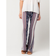 PATRONS OF PEACE Floral Paisley Womens Flare Pants