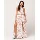 SOCIALITE Floral Tank & Maxi Skirt Set