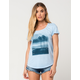 RVCA Palm Reflection Womens Tee