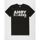 THE MAD HUEYS Ahoy Mens T-Shirt