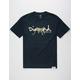 DIAMOND SUPPLY CO. Leopard OG Diamond Script Mens T-Shirt