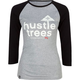 LRG Hustle Trees Womens Baseball Tee