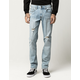 RSQ Brooklyn Relaxed Mens Ripped Jeans