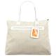 Woven Print Tote Bag
