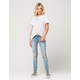 RSQ Ibiza Womens Ripped Skinny Jeans