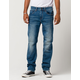 RSQ New York Mens Slim Straight Stretch Jeans