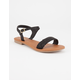 SODA Braided Strap Womens Sandals