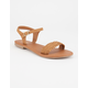 SODA Braided Strap Womens Sandals