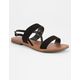 CITY CLASSIFIED Double Strap Womens Sandals