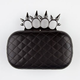 Spike Ring Hard Case Clutch