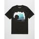 WAVY Wave Pixel Mens T-Shirt