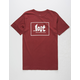 LOST Lam Label Mens T-Shirt