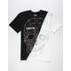 LIGHTS OUT Split Skull Mens T-Shirt