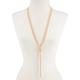 FULL TILT Beaded Long Chain Necklace